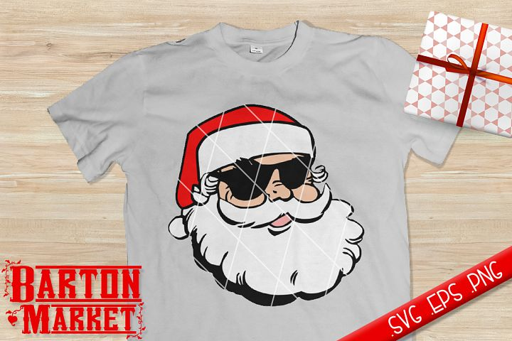 Santa Shades SVG / EPS / PNG