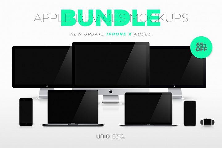 Apple Mockup Devices Bundle