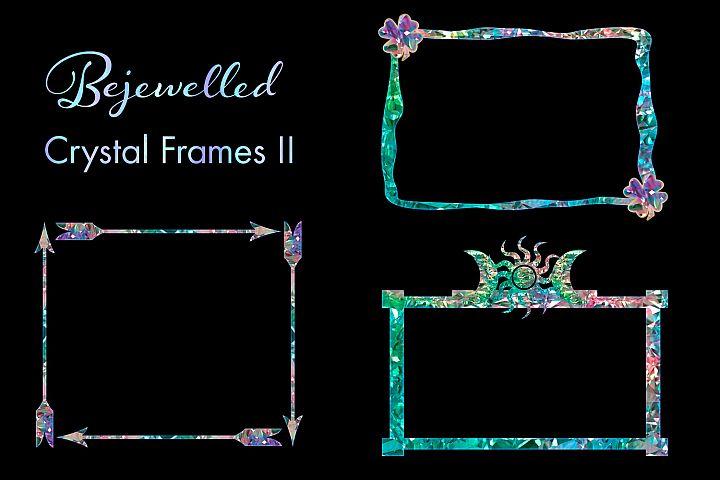 Bejewelled Crystal Frames II