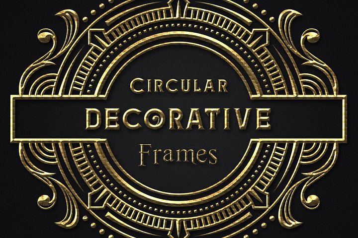 Circular Decorative Frames