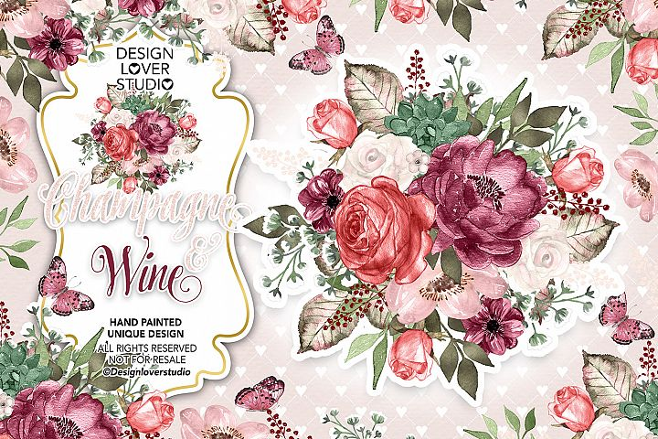 Champagne and Wine design