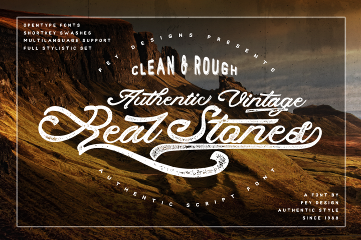 Real Stones - Clean And Rough + Extras