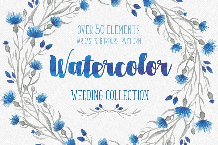 Blue flower _Wedding collection_