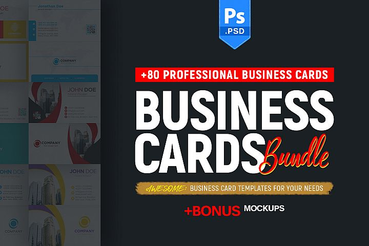 +80 Business Card Bundle
