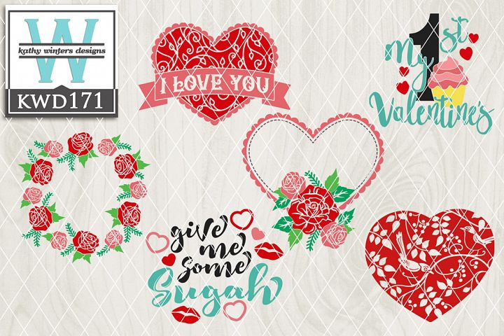 Valentines Cutting File KWD171