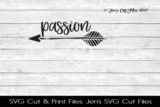 Passion SVG Cut File