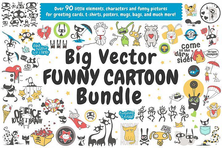 Vector Cartoon Bundle