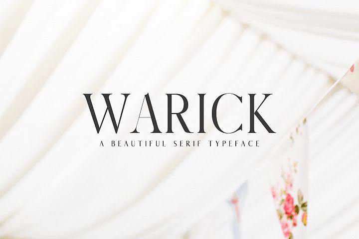 Warick Serif Font Family