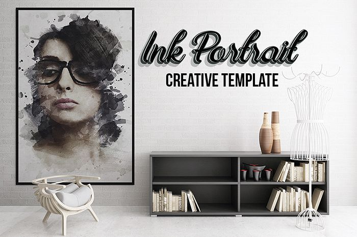 Ink Portrait - Creative Template