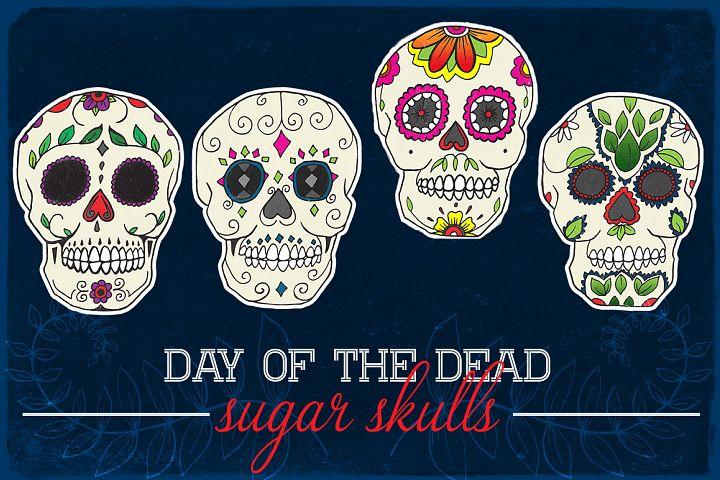 Day of the Dead Calavera Sugar Skulls