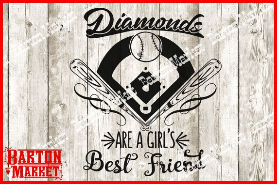 Diamonds Are A Girls Best Friend SVG / EPS / PNG