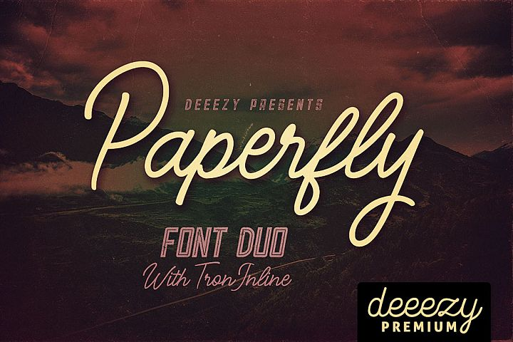 Paperfly Font Duo