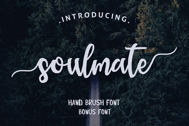 Soulmate Typeface