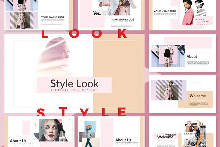 LookStyle Keynote Template