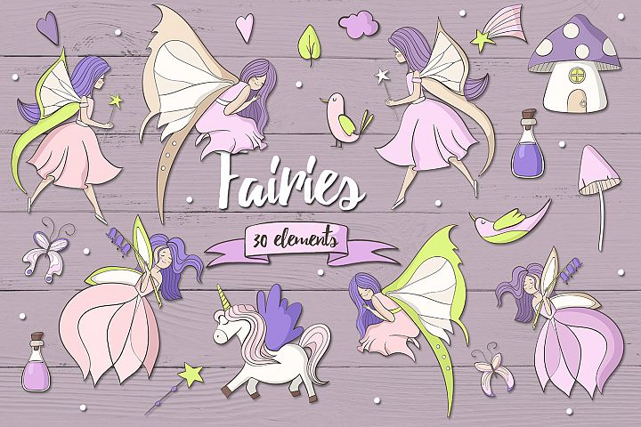 Fairies - Free Design of The Week