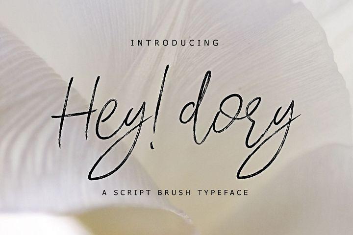 Hey Dory Typeface