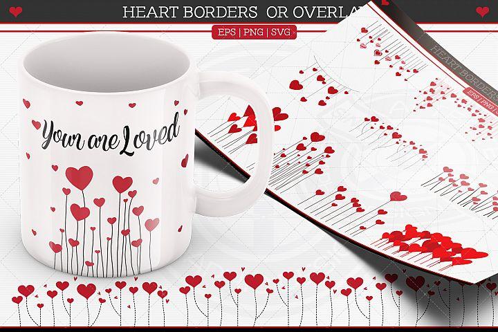 Heart Borders-Overlays