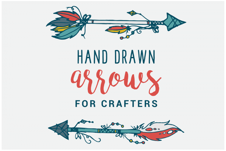 Hand Drawn Arrows for Crafters