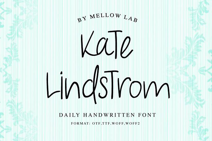 Kate Lindstrom Script