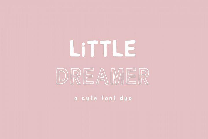 Little Dreamer Font Duo