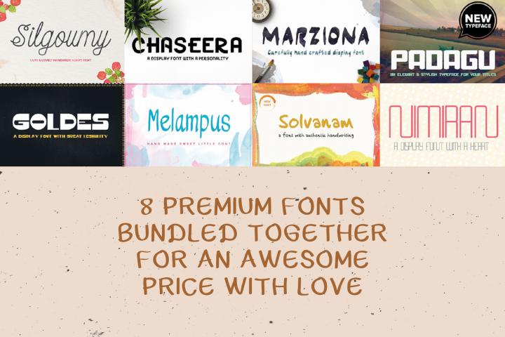 Premium Font Bundle