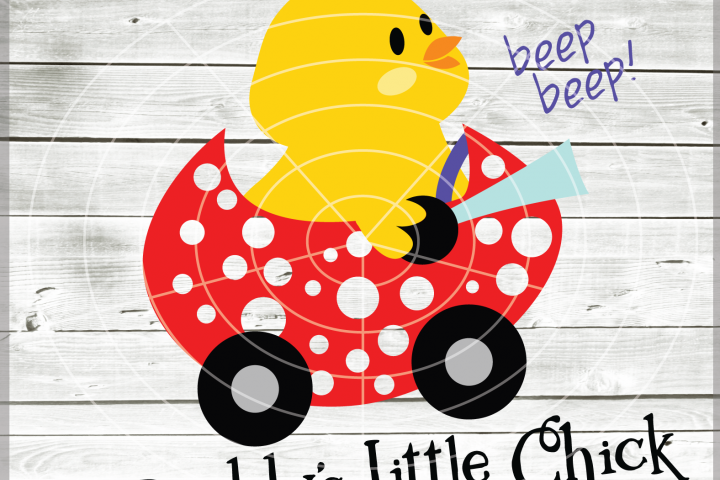 Easter Daddys little chick - Easter Chick SVG - Easter cuttable files - Chicks Svg - Cutting File - Svg - Dxf - Eps - Png - Jpg - Pdf