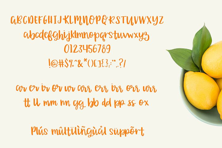 Orange Grove Script - Free Font of The Week Design 2