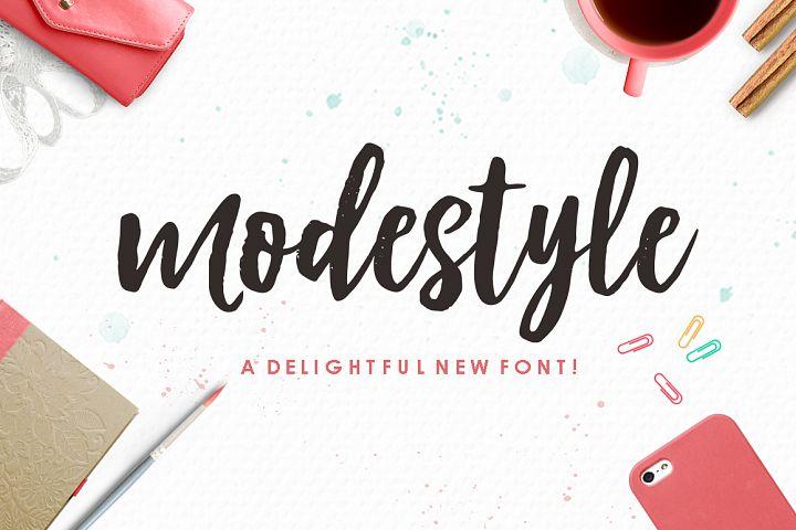Modestayle Script