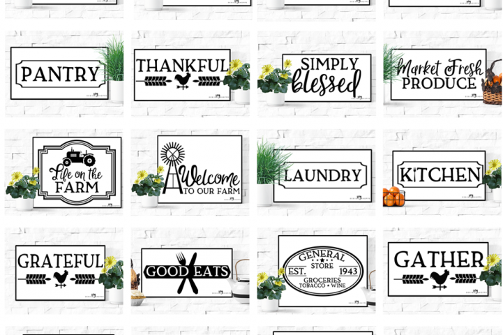 SVG Bundle, Farm SVG Files, Farm family SVG, Farmer, Tractor, Cricut Cutting File, SVG files for Cricut, SVG for Silhouette, Commercial Use