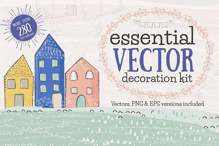Essential Vector Decoration Kit