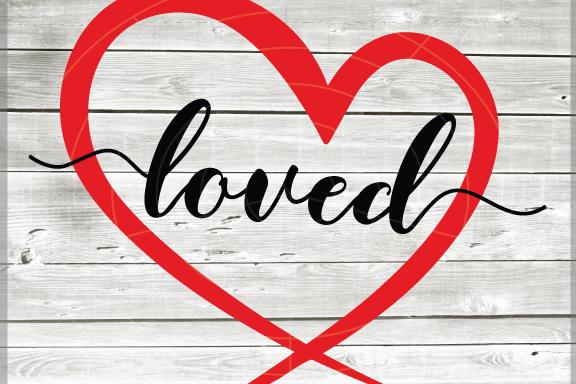 Valentine svg - Loved svg Hearts svg - Love heart - Valentine heart SVG -  Heart Cut File - DIY- Svg - Dxf- Eps - Png