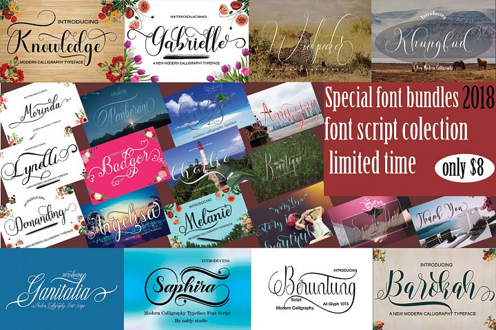 SPECIAL FONTS BUNDLES