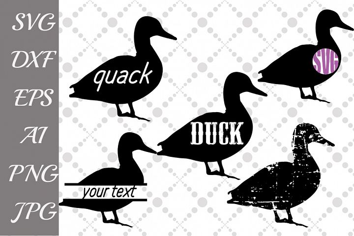 Duck Svg ,FARM SVG, Farm Animal Svg,Duck Monogram Svg