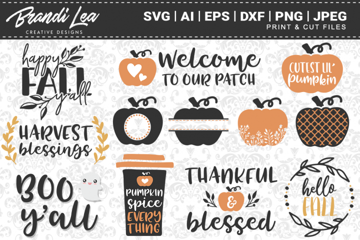 12-in-1 Fall SVG Bundle