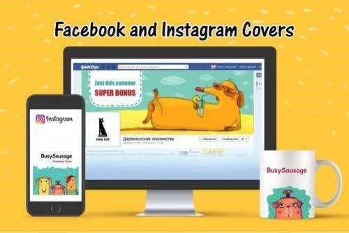 Facebook and Instagram Covers
