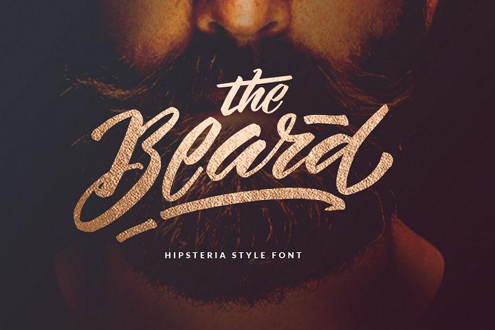 The Beard Hipster Font