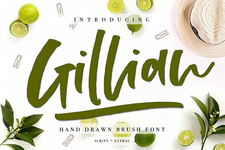 Gillian Font + Extras
