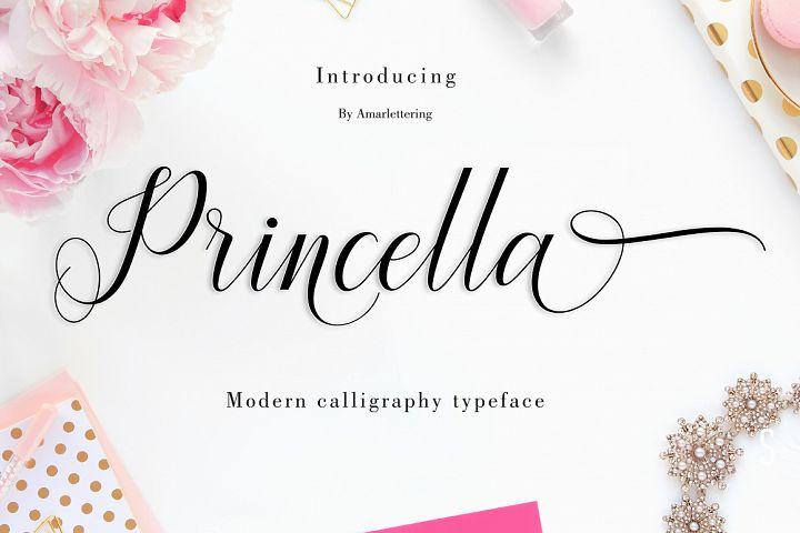 Princella Script | 5 Font