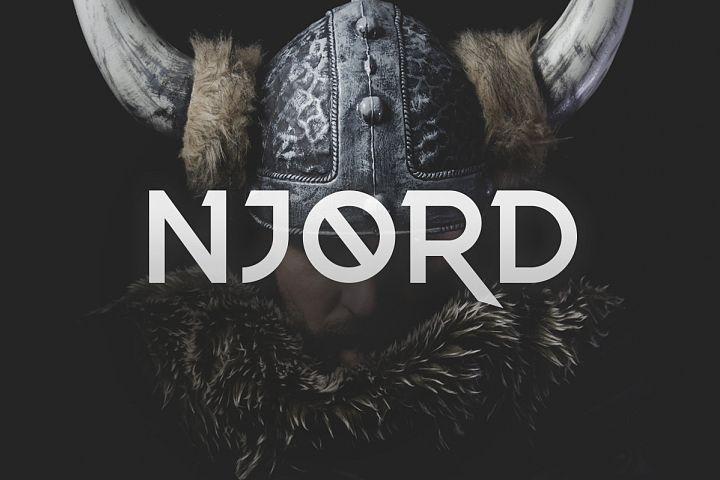 Njord Typeface