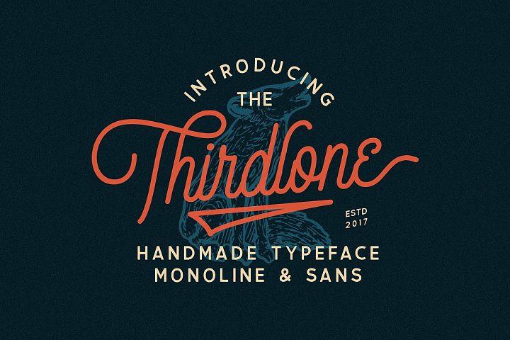 Thirdlone - Font Duo