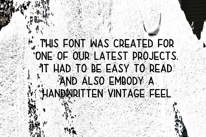 Rainday Typeface Font - Free Font of The Week Design 4