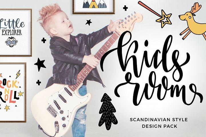 Kids room - scandinavian design pack