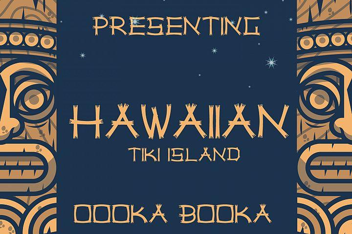 Hawaiian Tiki Island Font