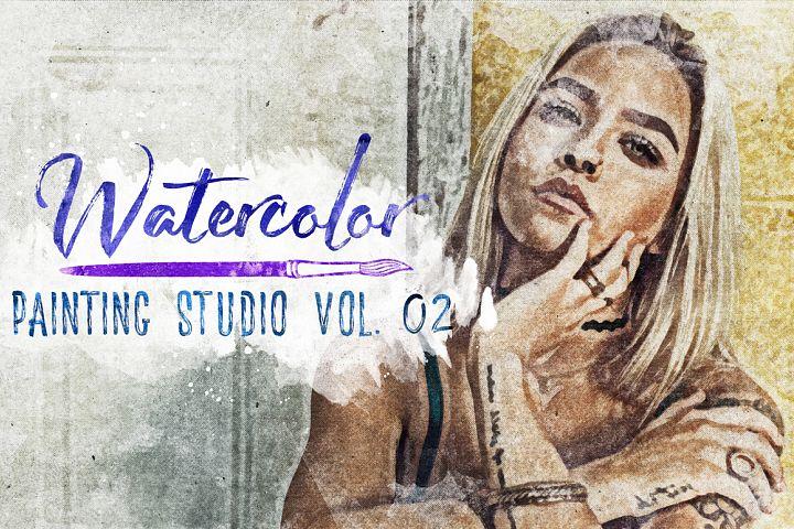 Watercolor Painting Studio Vol. 02