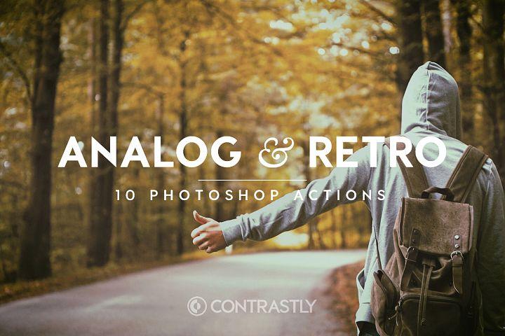 Analog & Retro Photoshop Actions