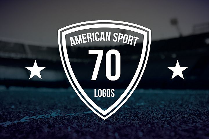 70 American Logo Sports example 2