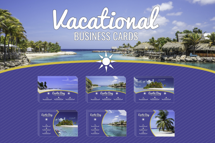 Vacational Business Card Template