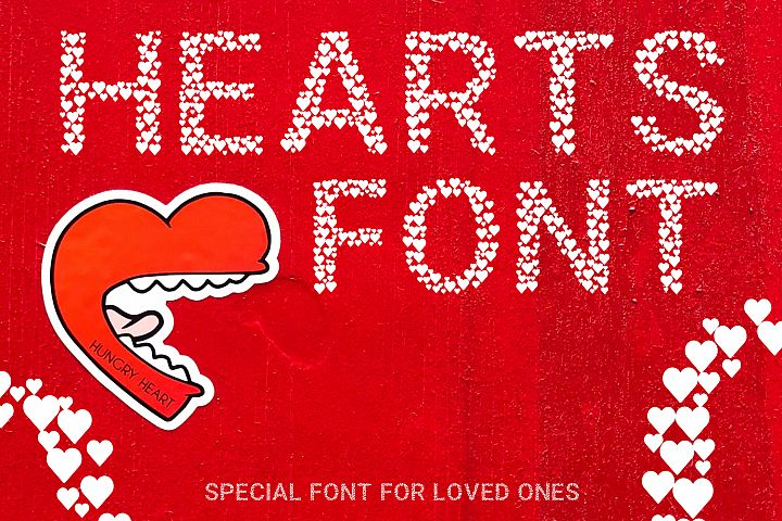 Hearts - A Font Love Story