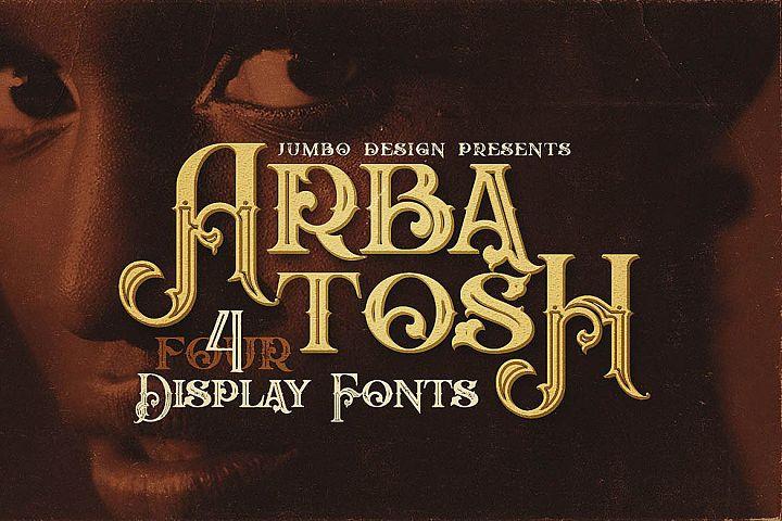Arbatosh - Display Font