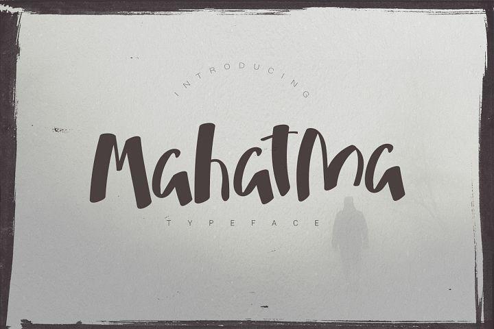 Mahatma Typeface